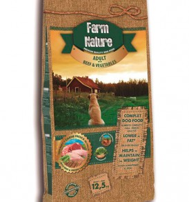 Farm Nature Adult Buey con Verduras