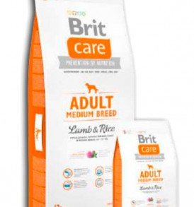 Brit Care Adult Cordero y Arroz Medium Breed