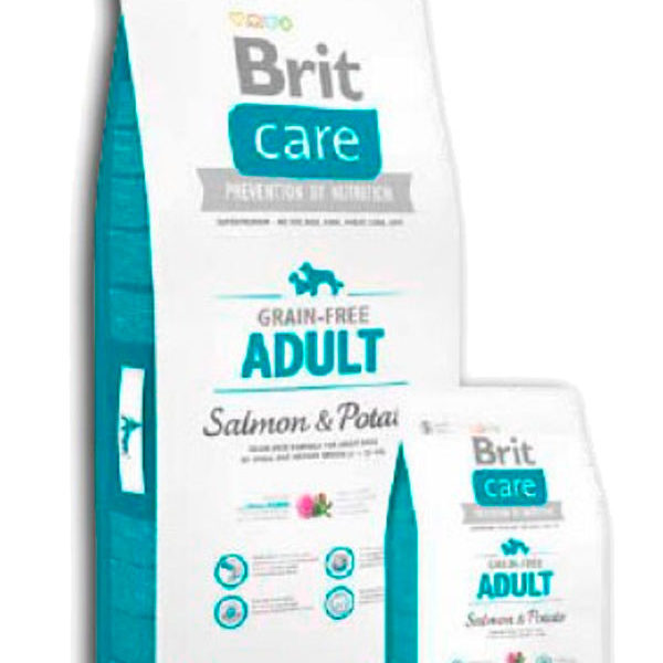 Brit Care Grain Free Adult Salmón y Patata