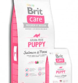 Brit Care Grain Free Puppy Salmón y Patata