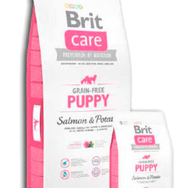 Brit Care Grain Free Puppy Salmón y Patata