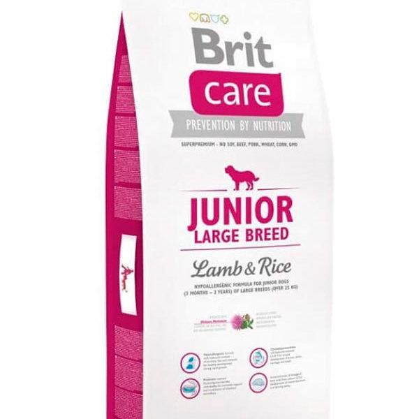 Brit Care Junior Cordero & Arroz Large Breed