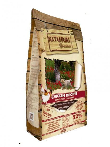 Natural Greatness Receta Pollo