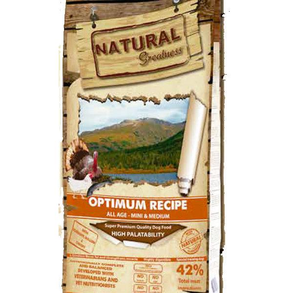 Natural Greatness Receta Optimum Mini & Medium