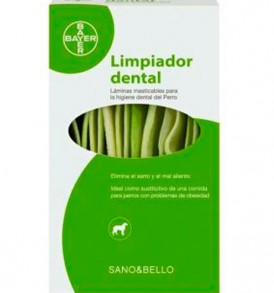 Limpiador dental Sano & Bello de Bayer