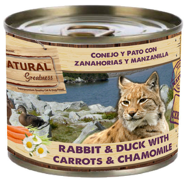 Conejo y Pato con Zanahorias y Manzanilla