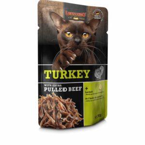 Leonardo turkey extra pulled beef
