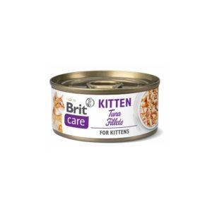 brit care cat filetes de atún para kitten