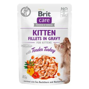 Brit care cat pouch kitten pavo