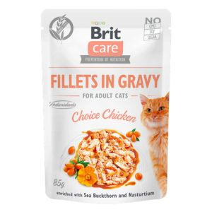 Brit care cat pouch pollo