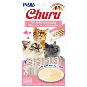 Churu pops pure atun y salmon