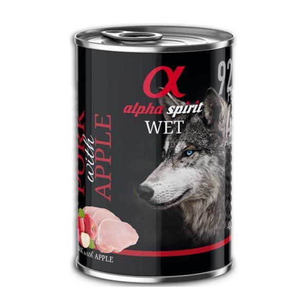 Alpha Spirit cerdo con manzana