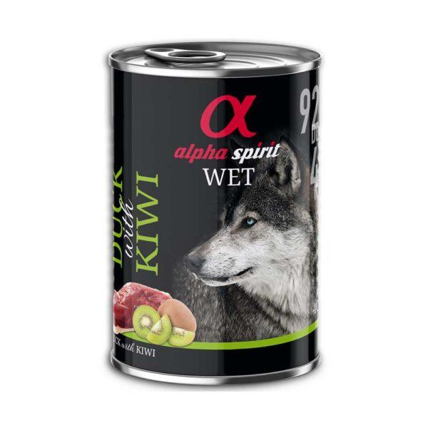 Alpha spirit pato con kiwi