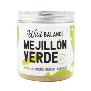 Wild balance mejillón verde 100gr